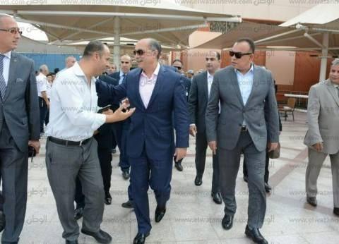 يونس المصري يتفقد مطاري شرم الشيخ والقاهرة استعدادا لمنتدى شباب العالم