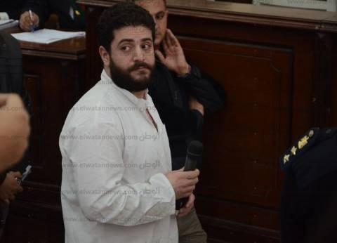 """بدء محاكمة بديع والبلتاجي ونجل مرسي في قضية """"اعتصام رابعة العدوية"""""""