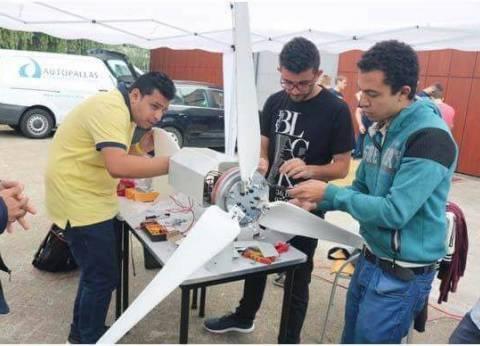 """طلاب """"هندسة عين شمس"""" يتصدرون بمسابقة دولية عن توربينات الهواء بهولندا"""