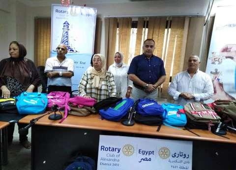 """""""تضامن الإسكندرية"""": وزعنا 1000 شنطة على الأسر  لمكافحة تسرب التعليم"""