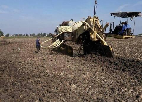 """""""الري"""": إحلال وتجديد شبكات الصرف المغطى لزمام 67 ألف فدان"""