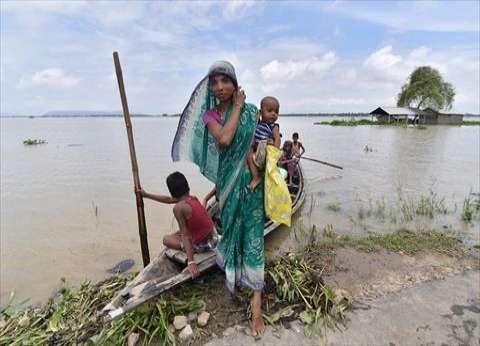 مقتل 4 أشخاص جراء أمطار غزيرة بغرب الهند