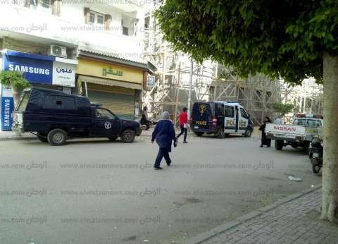 دوريات أمنية تجوب شوارع دمياط لتأمين اللجان الانتخابية