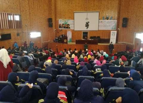 انطلاق فعاليات الملتقى الأول لشباب الجامعات المصرية بجامعة سوهاج