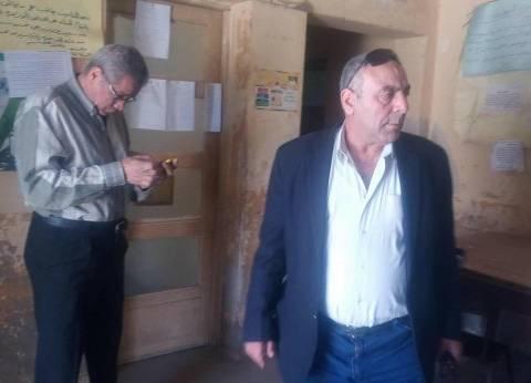 """وكيل """"زراعة الغربية"""" يتفقد لجان الانتخابات في مركز طنطا"""