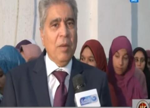 قاسم حسين يكشف سير عملية الاستفتاء على الدستور في محافظة المنيا