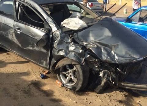 مصدر: توقف الحركة أعلى كوبري صفط اللبن بسبب حادث تصادم