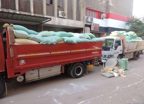 ضبط 69 طن دقيق قبل توزيعه بالسوق السوداء في القاهرة