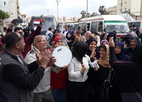إقبال كبير في اليوم الثاني للاستفتاء على تعديل الدستور ببورسعيد