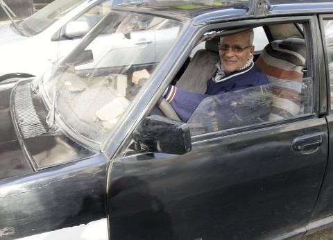 معاناة سائق «تاكسى أسود»: الزبون الشيك راح لـ«الأبيض»