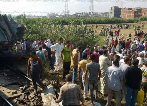 """""""الصحة"""": 75 سيارة إسعاف تنقل ضحايا حادث قطاري الإسكندرية"""