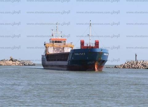 """""""المنطقة الاقتصادية لقناة السويس"""": موانئ بورسعيد تستقبل 27 سفينة"""