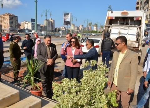محافظ دمياط تشيد بنموذج مدفن قمامة صحي بمنطقة الأعصر: يحافظ على الصحة