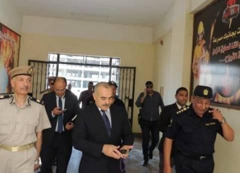 إصابة نقيب شرطة أثناء ضبط تجار مخدرات في المنيا