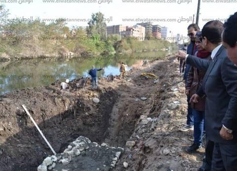 بالصور  محافظ الغربية يتفقد أعمال تطوير منطقة امتداد الإستاد
