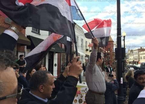 """مؤسس """"صوت مصر"""" يكشف كواليس استعداد """"الجالية"""" للقاء السيسي بواشنطن"""