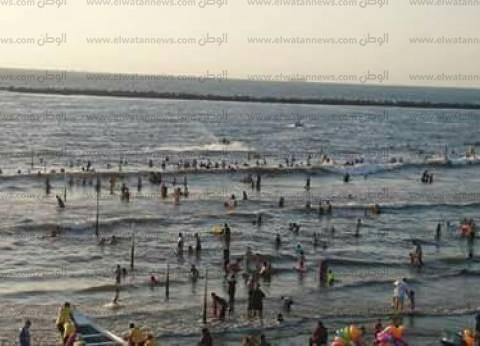 إنقاذ 42 شخصا من الغرق وتسليم 277 طفلا تائها لذويهم في رأس البر
