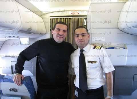 بدء عزاء الطيار محمد شقير قائد الطائرة المنكوبة بمسجد آل رشدان