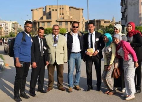 """جامعة المنيا تفوز بالمركز الثاني في مؤتمر """"المبادرات الطلابية"""" بالمنصورة"""