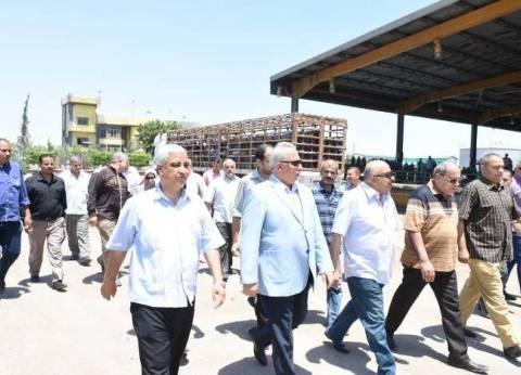 """محافظ الشرقية يتفقد محطة تعبئة إسطوانات الغاز """"شارفيل"""" بأبو حماد"""
