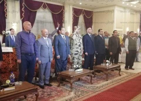 بالصور| محافظ الغربية يكرم أسر الشهداء في ذكرى عيد تحرير سيناء