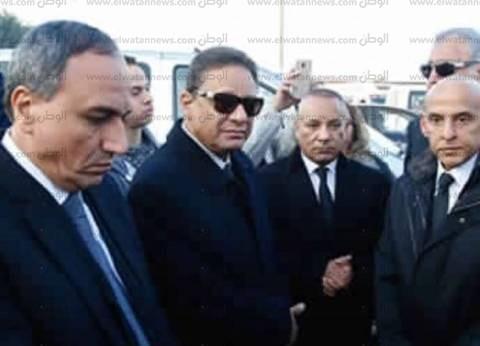 إيداع جثمان إبراهيم نافع بالمستشفى السعودي الألماني