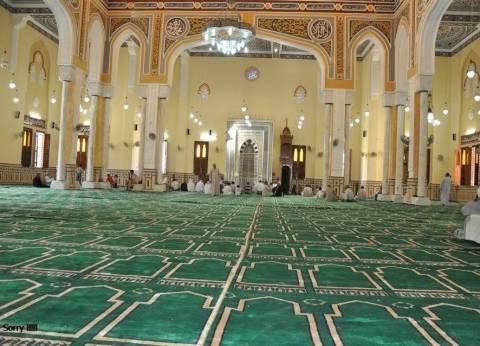 فرش 6 مساجد بالوادي الجديد بألفين متر سجاد والسماح بأداء صلاة الجمعة بها