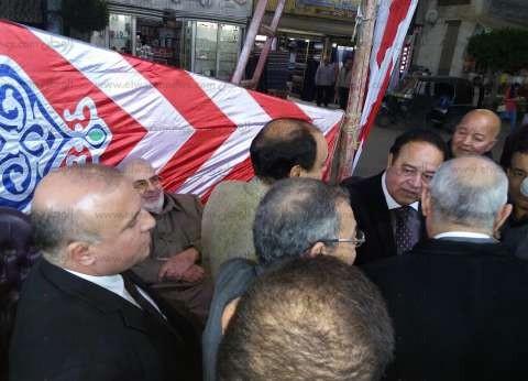 """الإعلامي جمال الشاعر يتلقى العزاء في وفاة والدته بـ""""دكرنس"""""""