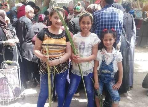 """جومانا وبسنت وميرا في الاستفتاء: """"نحتفل بأحد الشعانين وباستقرار مصر"""""""