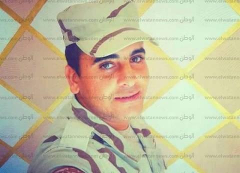 """الإسماعيلية تودع شهيد العملية الإرهابية في العريش """"إبراهيم محمد"""""""