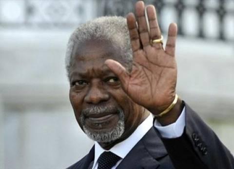 """كوفي عنان.. رحلة """"صاحب نوبل"""" من غانا حتى أمانة الأمم المتحدة"""