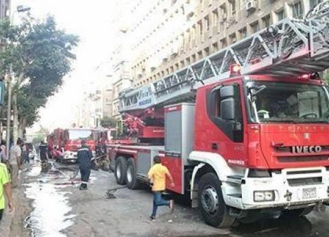 السيطرة على حريق نشب بجوار لجنة انتخابية في بني سويف دون إصابات
