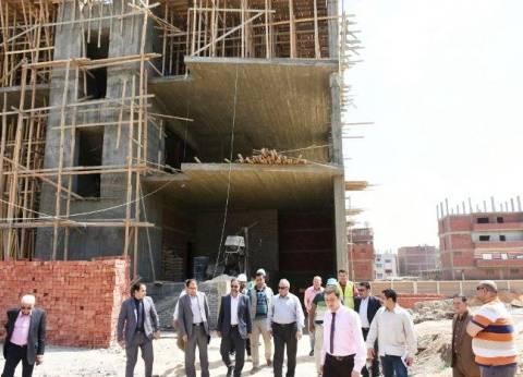 محافظ الشرقية يتفقد إنشاء مستشفى الطوارئ بالشوبك