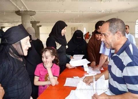 بالصور| مساعد محافظ كفر الشيخ يتابع استخراج بطاقات الرقم القومي
