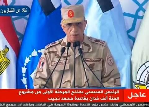 """""""أمين"""": وزارات الري والكهرباء والزراعة تعاونت لإنجاح الـ100 ألف صوبة"""