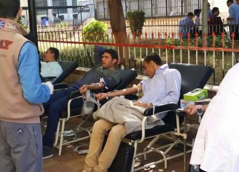 حملات للتبرع بالدم وندوات تثقيفية في جامعة المنوفية