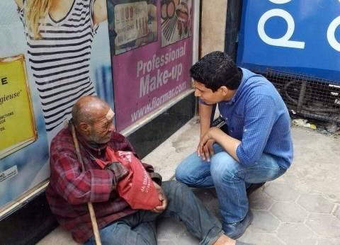 """""""التضامن"""": """"التدخل السريع"""" ينقذ رجلا مسنا من الشارع وينقله لدار رعاية"""
