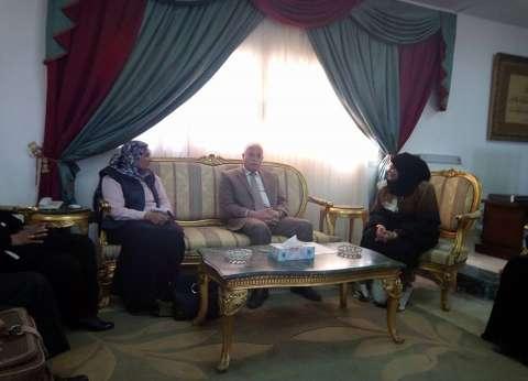 خالد فودة يطلق اسم الشهيد محمود ناجي على إحدى مدارس طور سيناء