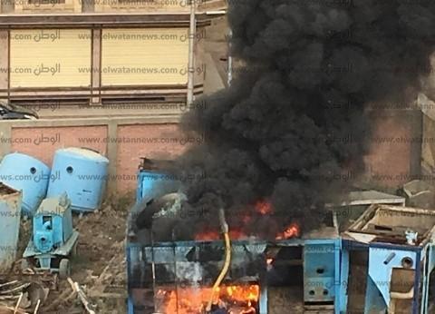 السيطرة على حريق داخل محطة رفع مياه الشرب شرق المنصورة