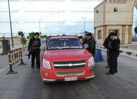 ضبط 50 سائقا بتهمة القيادة تحت تأثير المخدر في بني سويف
