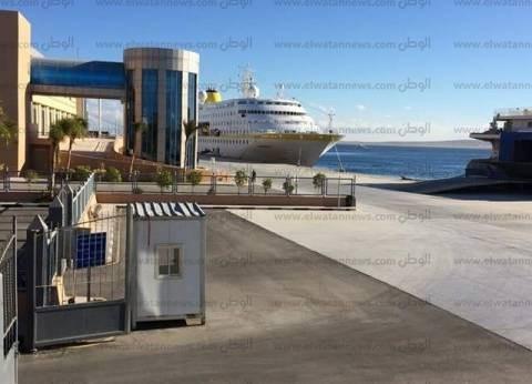 """""""موانئ البحر الأحمر"""": إغلاق ميناء الغردقة البحري لسوء الأحوال الجوية"""