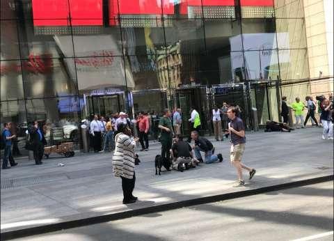 فيديو جديد لحادث دهس مواطنين في نيويورك