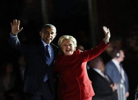 """""""أوباما"""" للأمريكيين: تخلوا عن الخوف وصوتوا لـ""""كلينتون"""""""