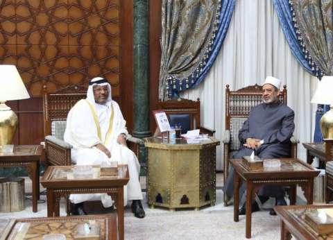الطيب يشيد بدعم الإمارات لرسالة التسامح والسلام التي يحملها الأزهر
