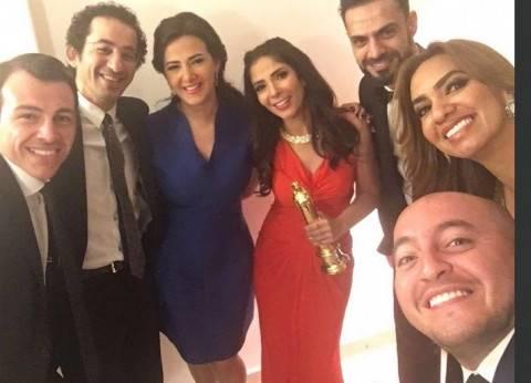 """رامي رضوان لـ""""منى زكي"""" بعد فوزها بأفضل ممثلة: """"تستحقيها عن جدارة"""""""