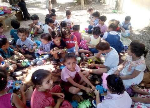 """يوم ترفيهي للأطفال والاحتفال بالعيد القومي بـ""""ثقافة القليوبية"""""""