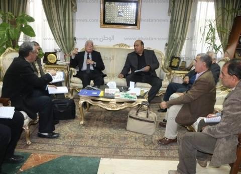 محافظ جنوب سيناء يستعرض مراحل تنفيذ مشروع جامعة الملك سلمان