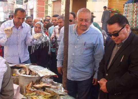 """إعدام """"فسيخ ورنجة"""" فاسدة قبل """"شيم النسيم"""" بالشرقية"""