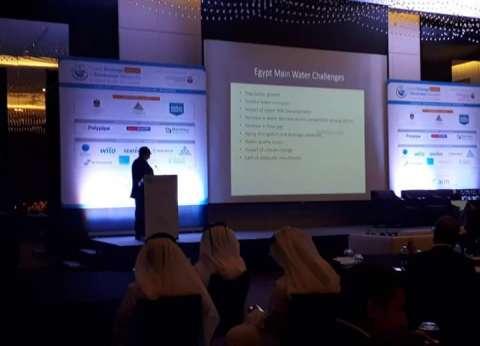 رئيس هيئة الصرف يستعرض تحديات مصر بقمة البنية التحتية في الإمارات