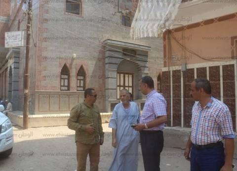رئيس مدينة دسوق يتابع الاستعدادات لعيد الأضحى
